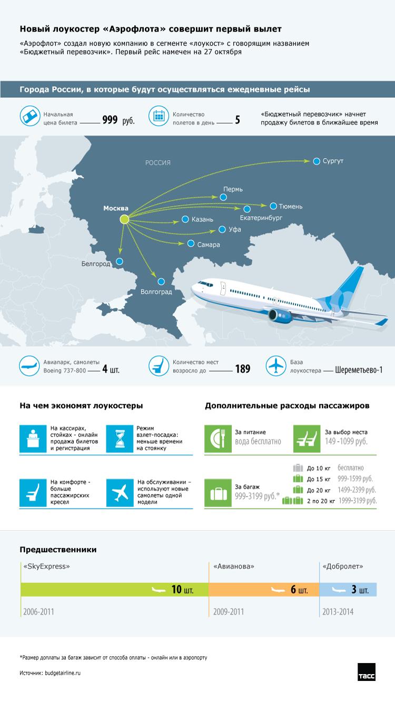 Инфографика. Лоукостер