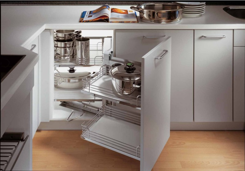 Why Must You Invest In Some Of The Kitchen Cabinet Accessories