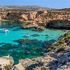 Tourism photo of Malta. Look at that brilliant aqua!