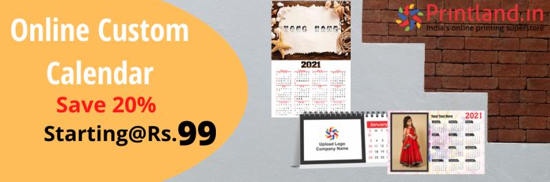 Online Custom Calendar