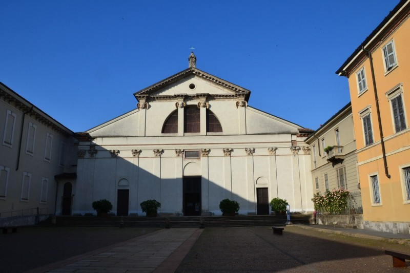 Базилика Сан Витторе аль Корпо — современный вид.