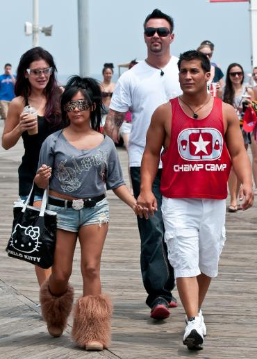 Snooki and Jionni LaValle: Back Together? - Oh No They Didn't!