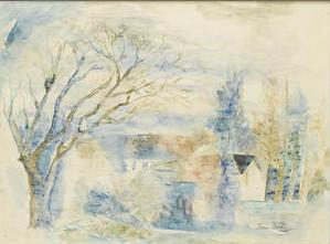 Jean Dufy, Maison dans la campagne