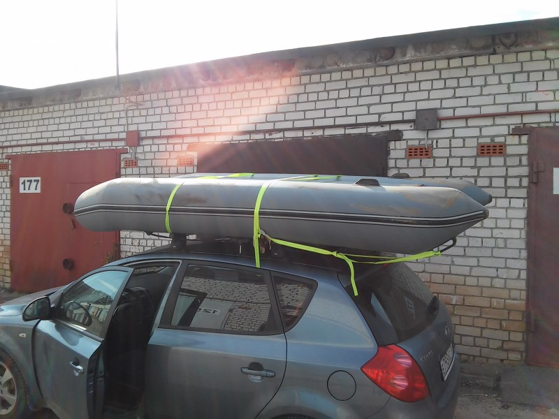 провоз лодки с мотором через границу