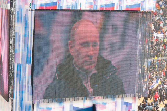 Выступление Путина 23 февраля