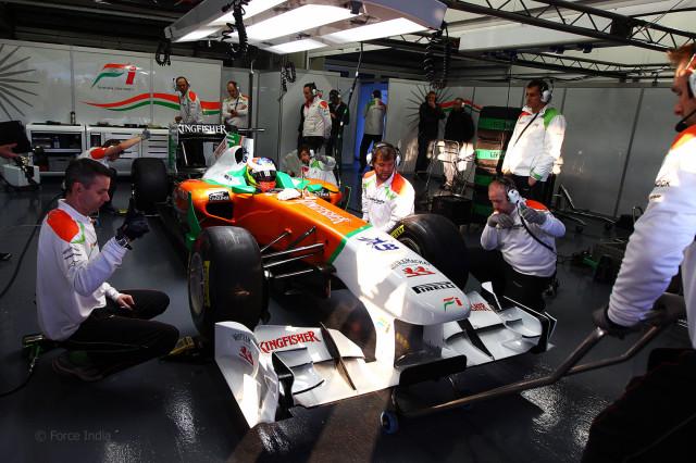 Force India подготовит новую машину до первых тестов