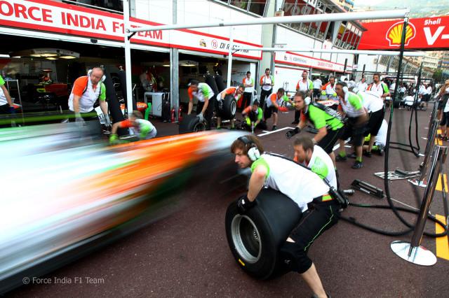 Подробная информация о команде Force India