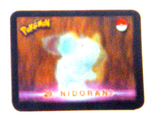 nidoqueen 3d tazo stadium card