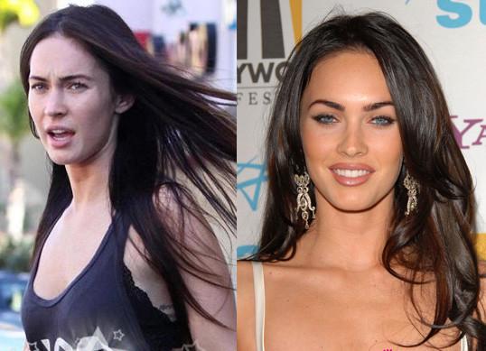 Звёзды голливуда без макияжа