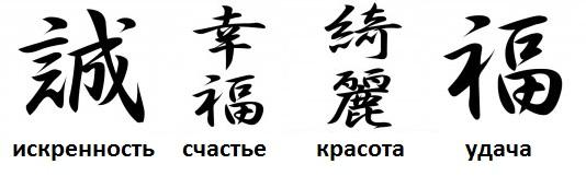 Тату надписи и их значение