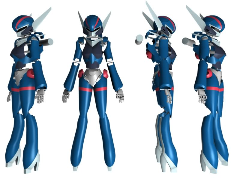 The inspiration for Transformers Prime Arcee? - Chick Digs Giant Robots and Other Awesomeness