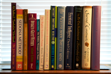 self help books auction fundraiser