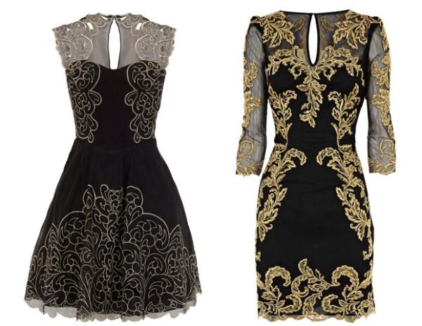 Выкройки платьев в готическом стиле