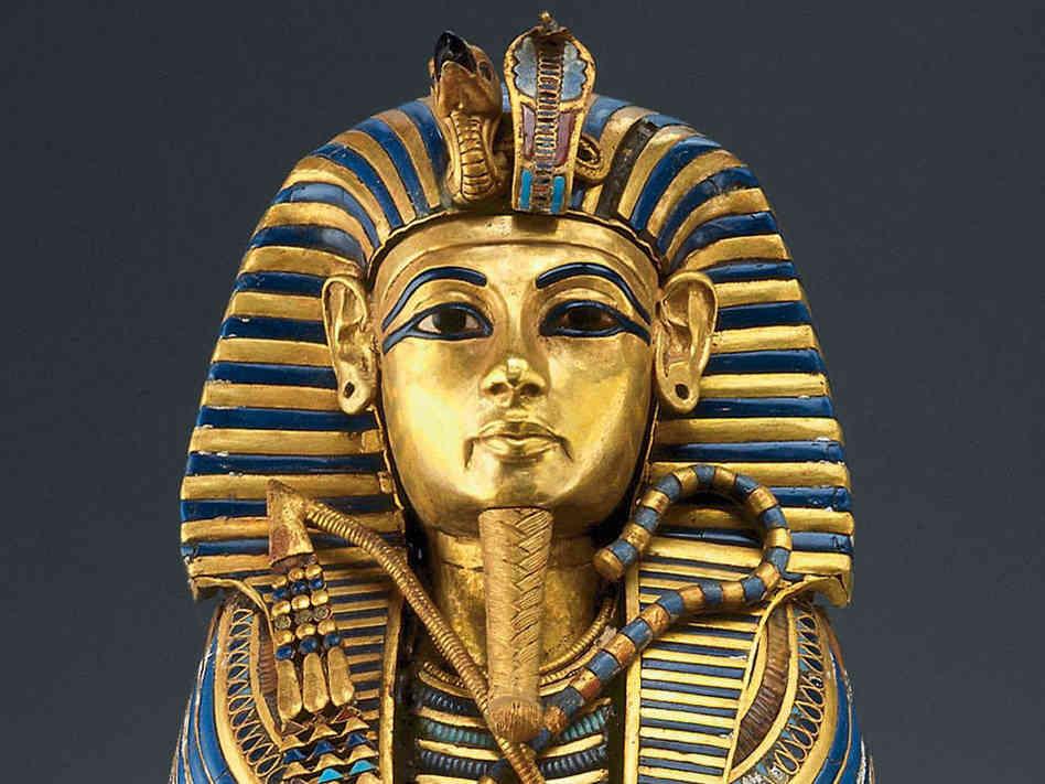 желто-синий фараон