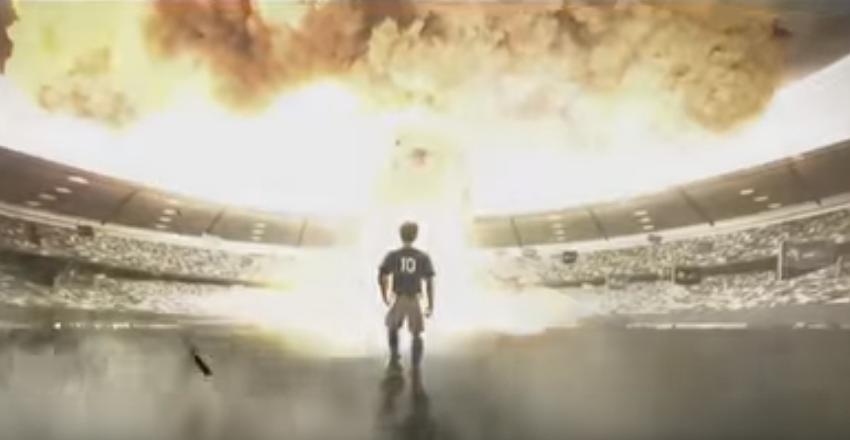 Ядерный взрыв на стадионе