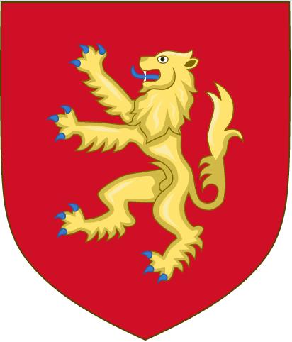 Старый герб Англии