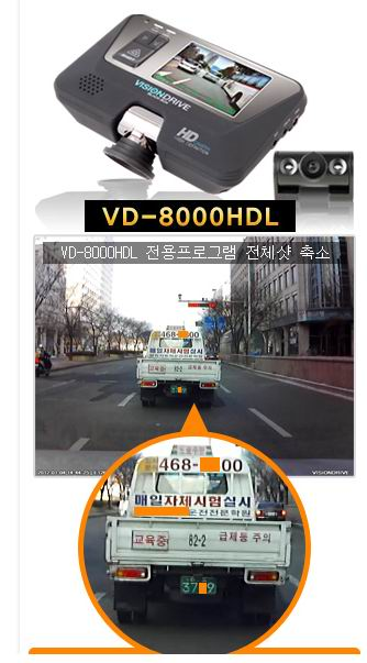 Visiondrive VD-8000 HDL 2CH