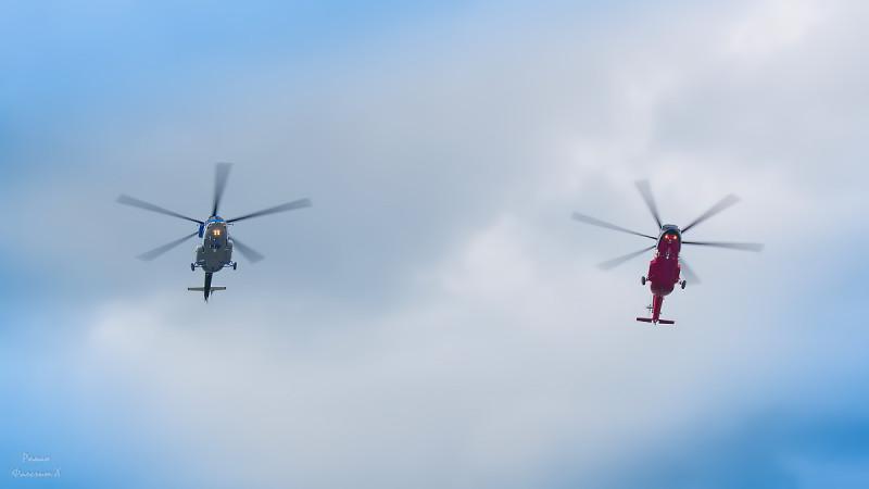 Новые вертолеты МИля