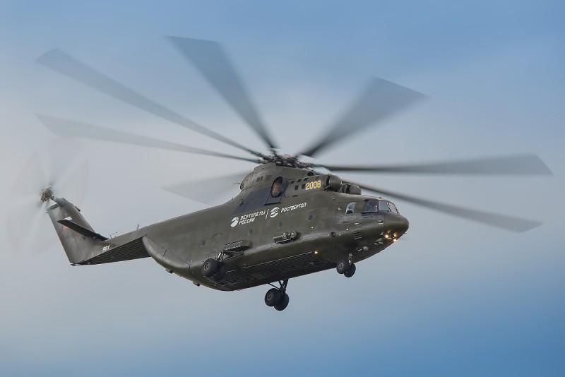 Самый вертолетный транспортник из всех транспортников - Ми-26
