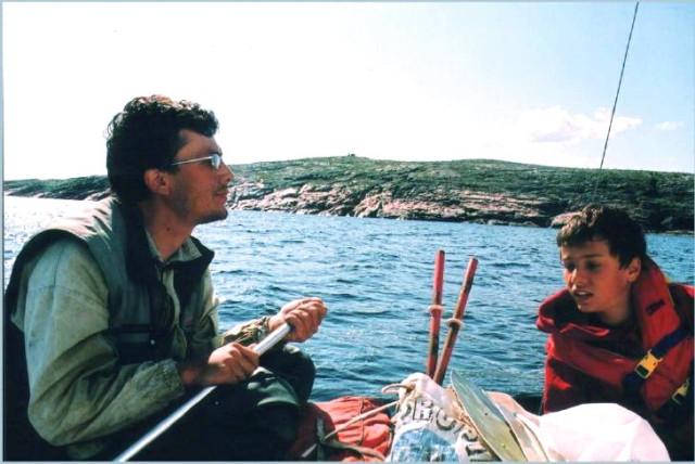 Александр Марков с сыном