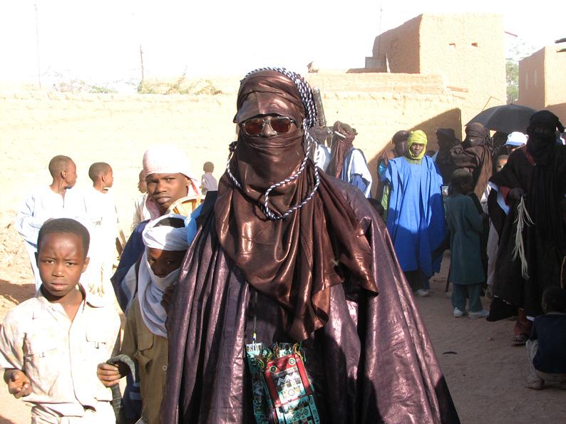 туарег в праздничной одежде