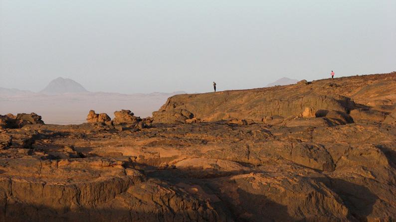рассвет в Тагельмамете, юг Алжира