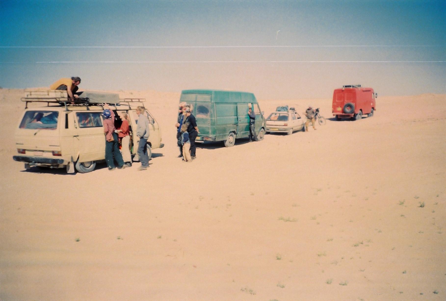 наш конвой в Мавритании