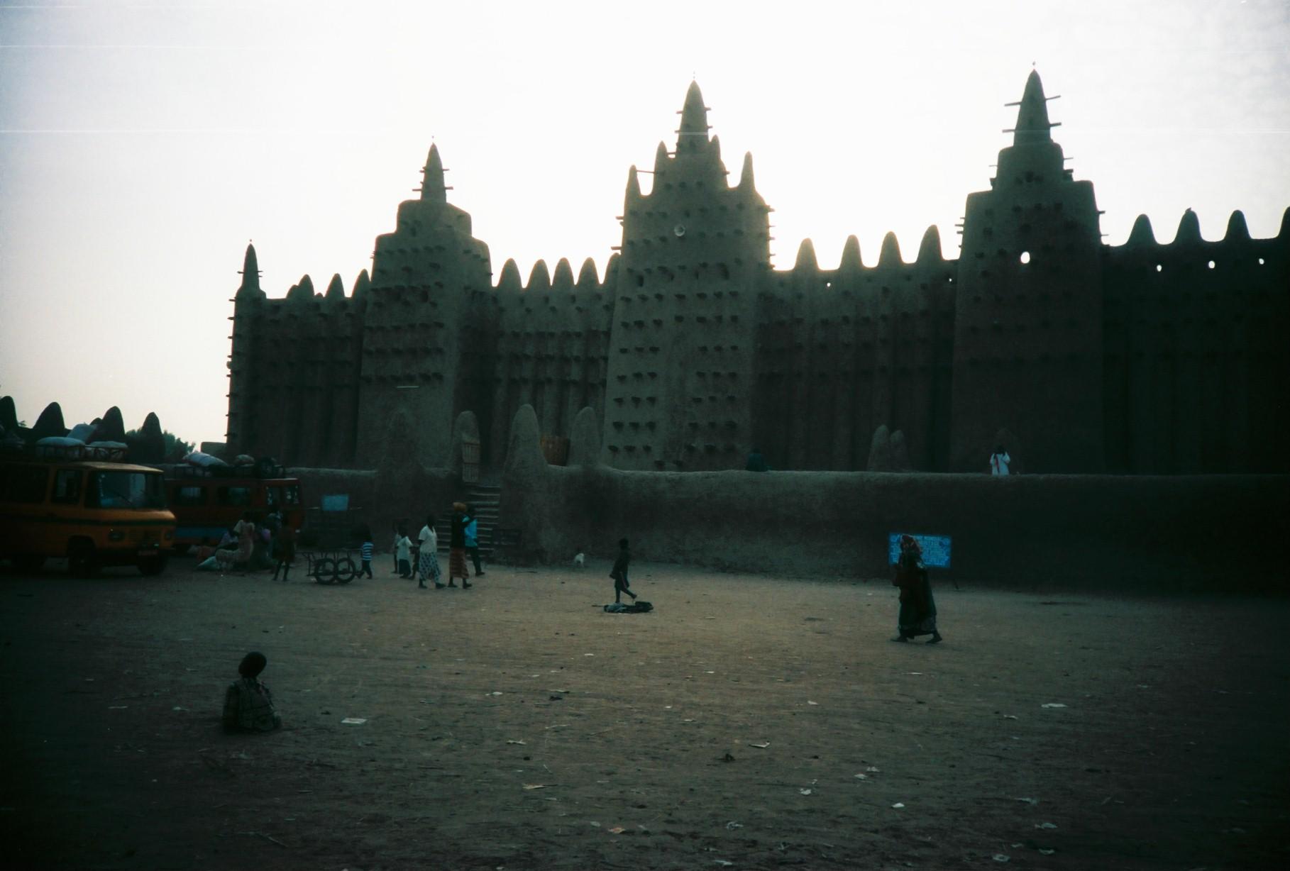 Мечеть в Дженне, Мали