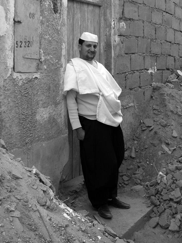 a mozabite in Ghardaia
