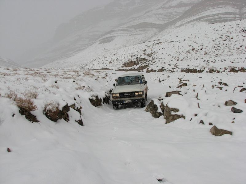 Перевал Мсемрир - Тамтатушт, февр 2009