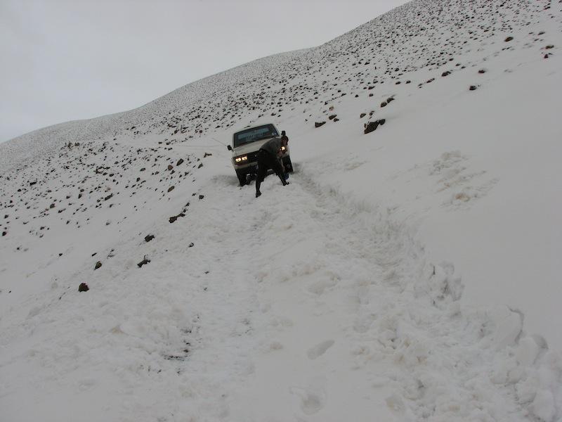 Перевал Мсемрир-Тамтатшут, февр 2009