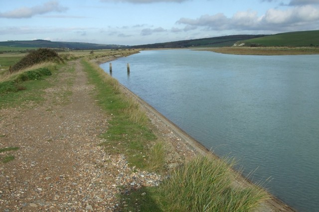 river Cuckmere valley