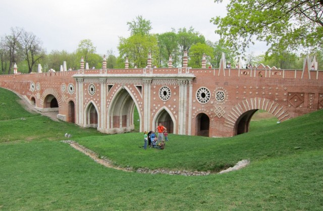 Tsaritsyno bridge