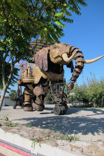 Нантский слон 9
