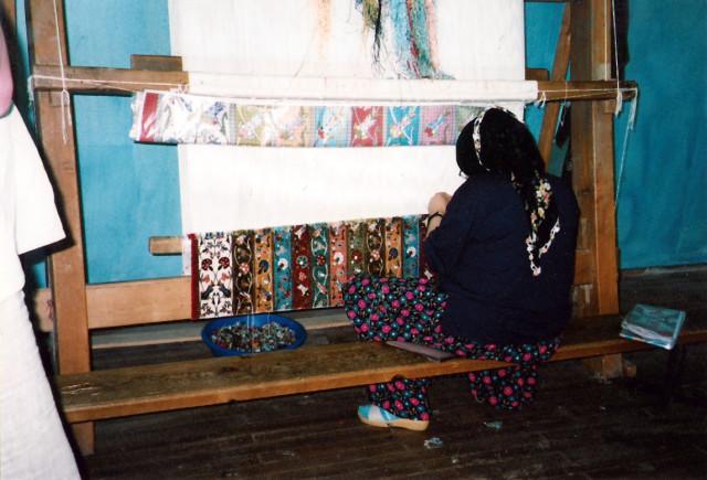 carpet making