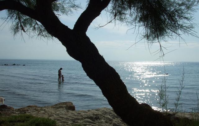 Aegean sea calmness