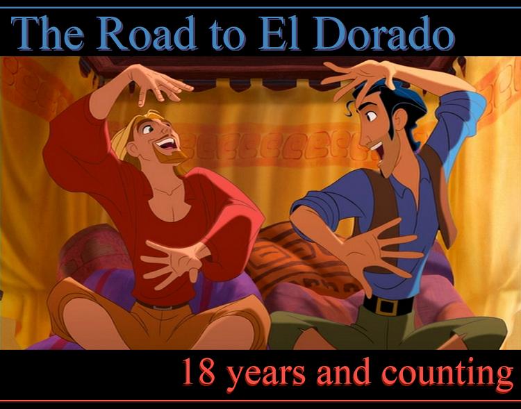 'The Road to El Dorado' Eighteen Year Banner.png