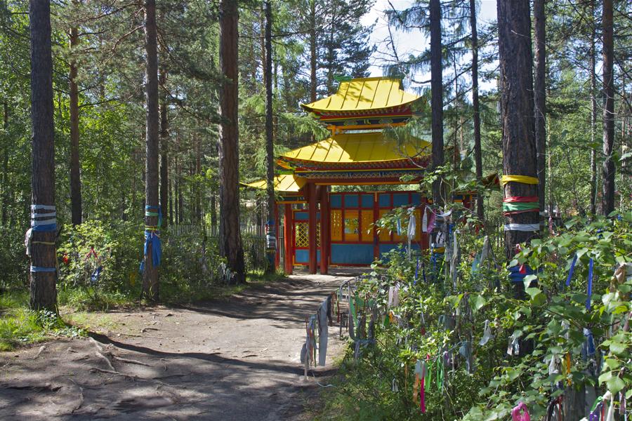 буддийский дацан в ниловой пустыни