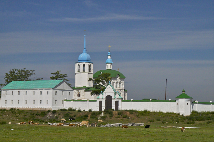 спасо преображенский посольский монастырь