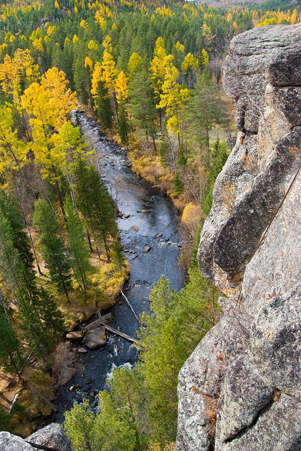 вид со скальника Витязь, сибирь фото