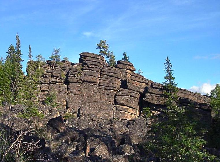 скальник старая крепость
