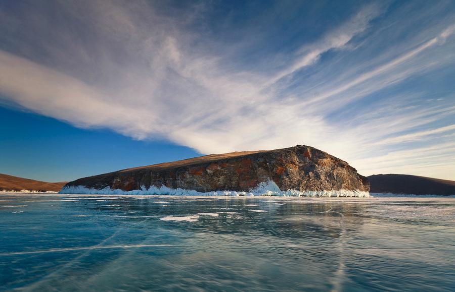 лед байкала, Байкал фото