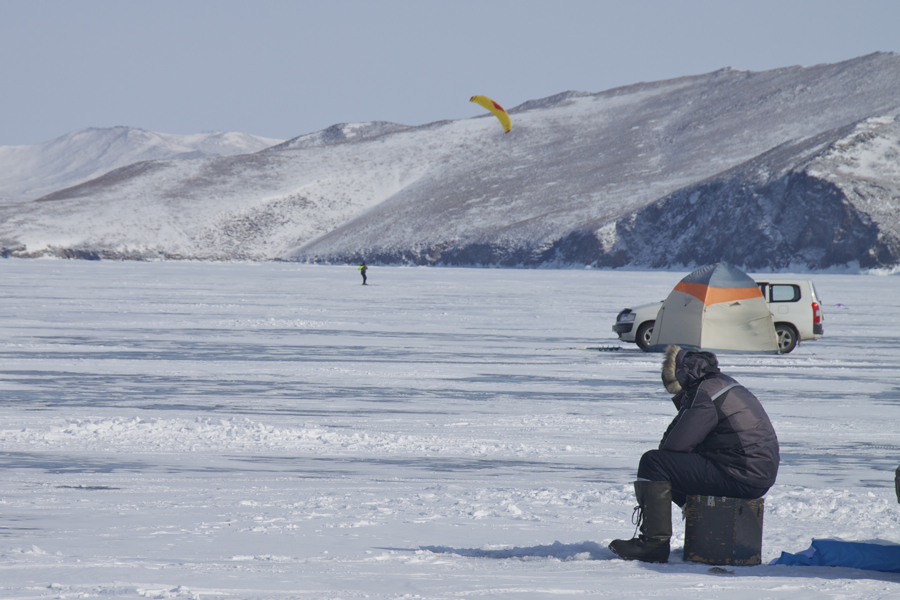 зимняя рыбалка Байкал