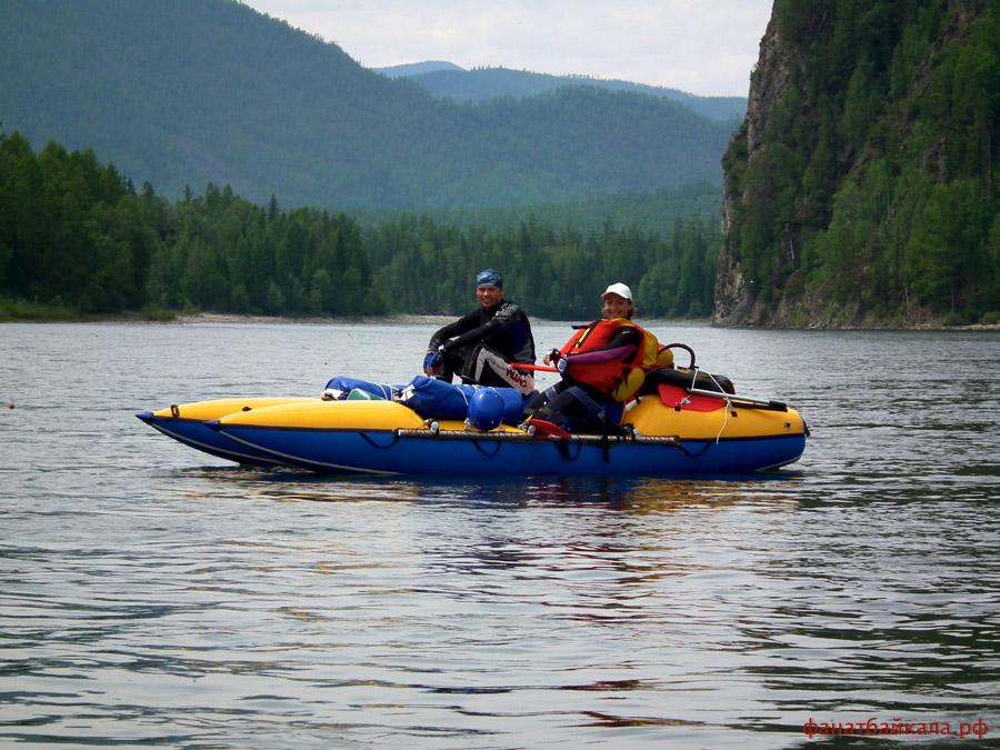 Отдых на Байкале, Сплав по реке, рафтинг, туры на Байкал, катамаран, каяк, Байкал фото