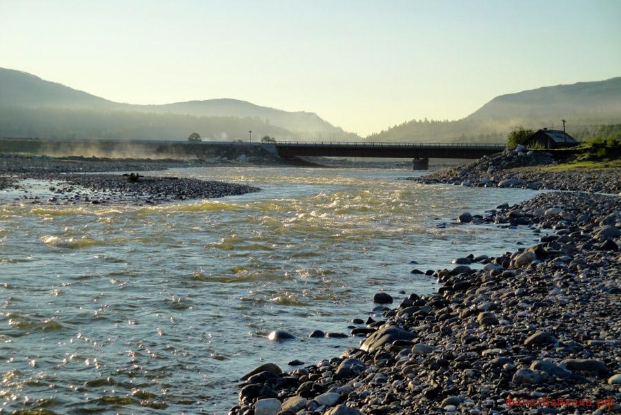 сплав по рекам Сибири