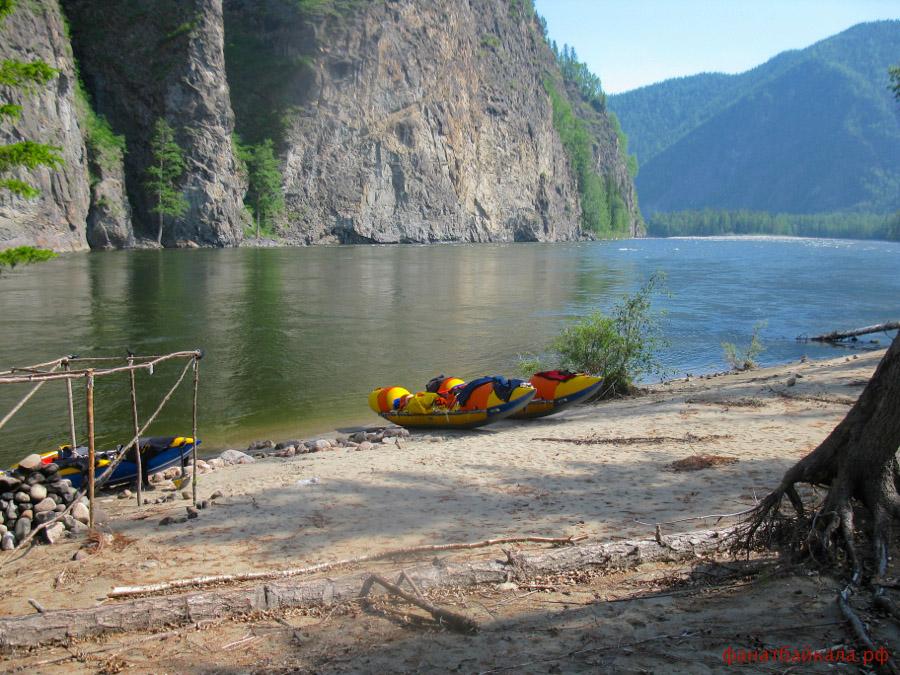 Сплав по реке Ока