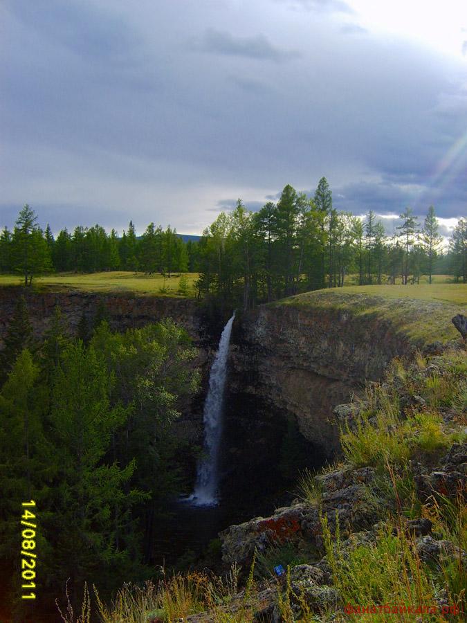 Водопады Сибири
