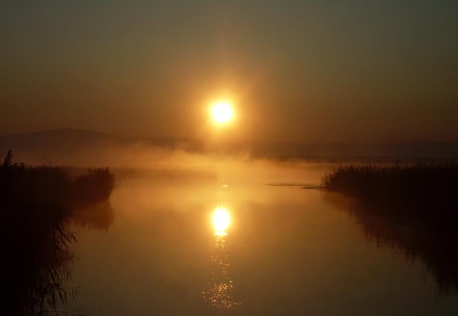 восход в Кабанском заказнике
