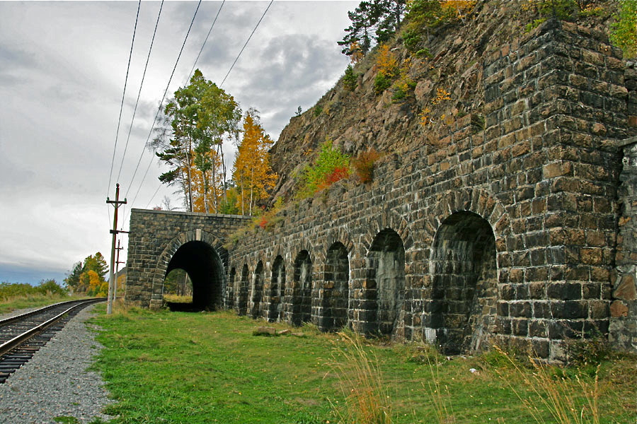 кругобайкальская железная дорога фото