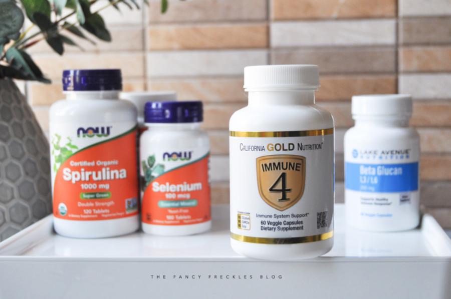 California Gold Nutrition Immune 4 System Support - добавка для поддержки иммунтета